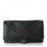 Chanel Calfskin Quilted XXL Travel Weekender Bag