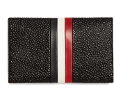 Brooks Brothers Pebble Leather Envelope Card Case