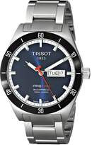 Tissot Men's T0444302104100 PRS 516 Day Date Dial Watch