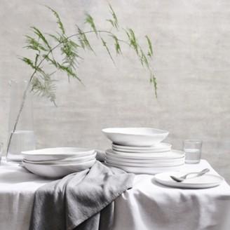 The White Company Portobello 12 Piece Dinner Set , White, One Size