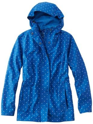L.L. Bean L.L.Bean Women's H2Off Rain Mesh-Lined Jacket, Print