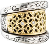 Konstantino Classics Diamond Filigree Ring