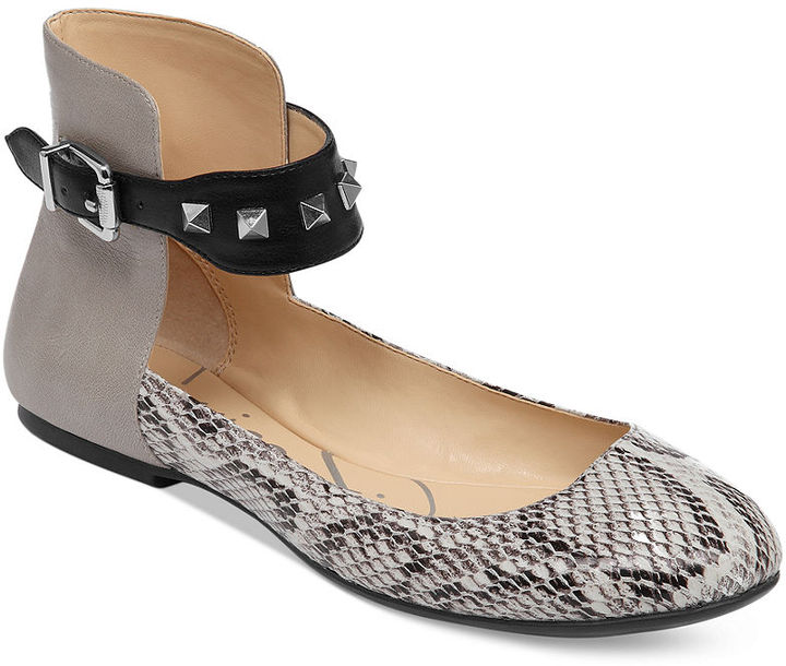 Jessica Simpson Munney Ankle Strap Flats