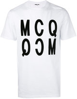 McQ by Alexander McQueen printed T-shirt - men - Cotton - XS