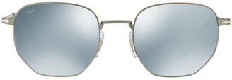 Persol Geometric Frame Sunglasses