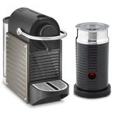 Nespresso Pixie Espresso Maker with Aeroccino Plus Automatic Milk Frother