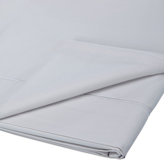 John Lewis & Partners 400 Thread Count Soft & Silky Egyptian Cotton Flat Sheet, Cool Grey