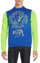 Versace Graphic Knit Sweater
