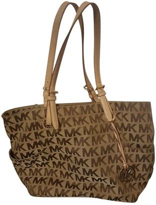 Michael Kors Beige Cloth Handbags