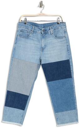 3301 Mid Rise Colorblock Boyfriend Jeans