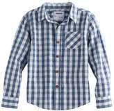Sonoma Goods For Life Boys 4-7x SONOMA Goods for Life Gingham Plaid Shirt