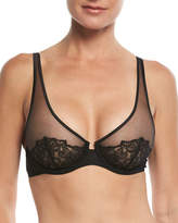 La Perla English Rose Plunge Underwire Bra