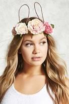Forever 21 Rose Flower Crown