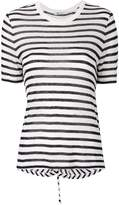 Alexander Wang striped cutout T-shirt