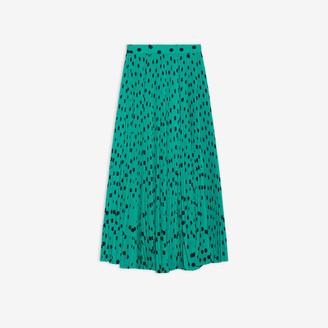 Balenciaga Pleated Skirt