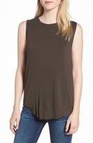 AG Jeans Women's Devyn Drape Back Tank