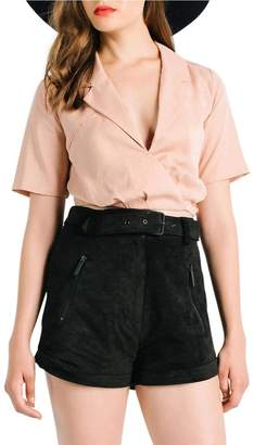 KENDALL + KYLIE Tie Back Blouse