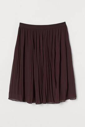 H&M H&M+ Pleated skirt