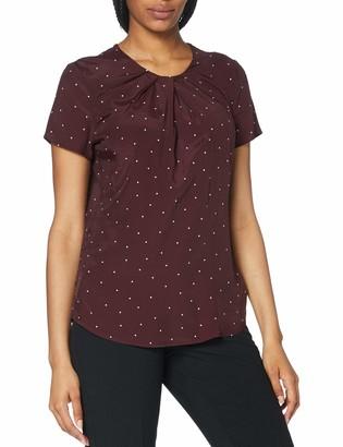 Seidensticker Women's Shirtbluse Kurzarm Gepunktet Blouse