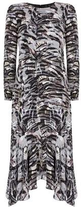 Mint Velvet Izzy Puff Sleeve Midi Dress