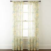 Home ExpressionsTM Sterling Rod-Pocket Sheer Curtain Panel