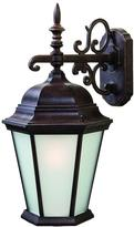 Richmond Acclaim Lighting Collection 1-Light Outdoor Burled Walnut Wall Mount Light Fixture