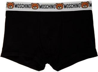 Moschino Black Bear Waistband Boxers