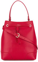 Furla removable strap bucket bag - women - Leather - One Size