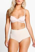 Boohoo Plus Nicole No VPL Highwaist Light Control Brief