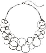 Apt. 9 Circle Link Swag Necklace