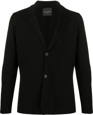 Roberto Collina Single-Breasted Knitted Blazer