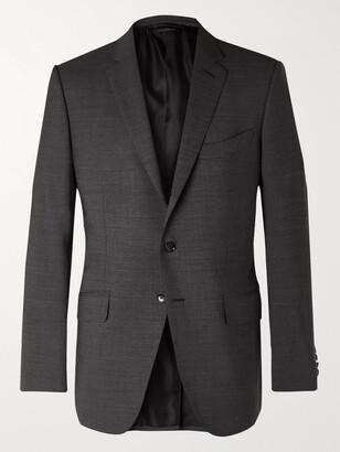 Tom Ford O'connor Melange Wool-Blend Suit Jacket