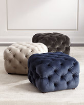 Grace Small Tufted Ottoman