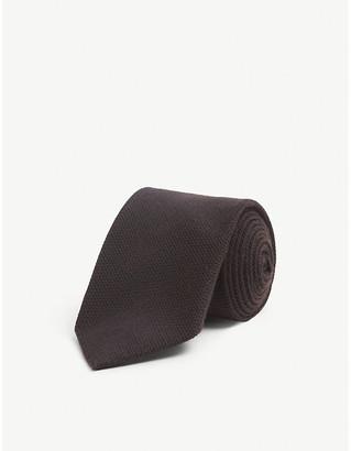 Bigi Cravatte Knitted silk and cashmere tie