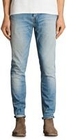 AllSaints Dakon Rex Slim Fit Jeans in Indigo Blue