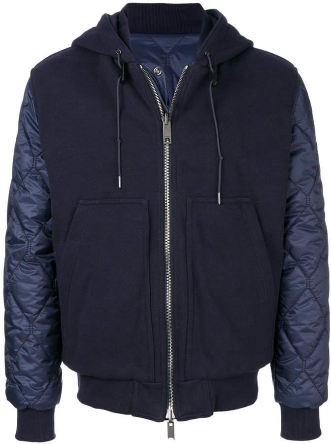 Burberry zipped hoodie