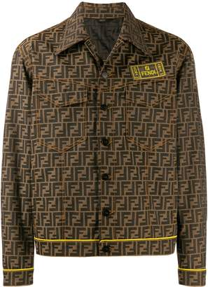 Fendi all-over FF shirt jacket