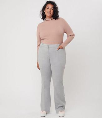 LOFT Plus Herringbone Trousers