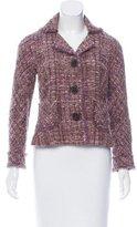 Lida Baday Tweed Notched-Lapel Jacket
