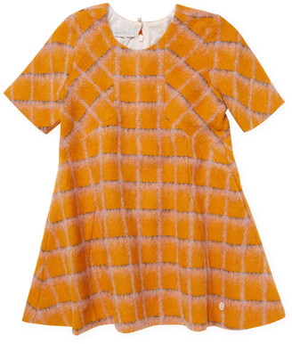Christian Dior Checkered Print Dress