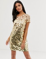 French Connection Basu sequined shift dress