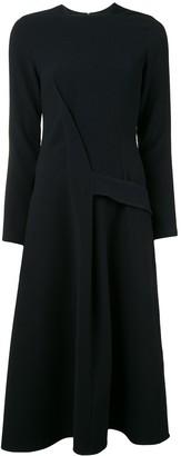 Victoria Beckham belted A-line dress