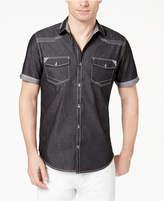 INC International Concepts Men's Rodeo Denim Shirt, Created for Macy's