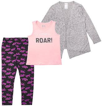 Aeropostale p.s. from Girls' Leggings LTGRE - Light Pink 'It's Time to Roar!' Tank Set - Girls