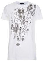Balmain Chain Crest T-shirt