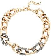 Lele Sadoughi Pavé Link Necklace