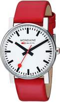 Mondaine Men's A660.30344.11SBC Evo Gents 38 Leather Band Watch