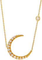 Renee Lewis Women's Crescent Moon Pendant Necklace
