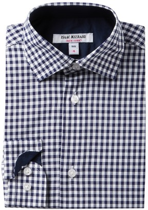 Isaac Mizrahi Gingham Print Shirt (Toddler, Little Boys, & Big Boys)