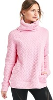 Gap Jacquard Funnel-Neck Pullover Sweatshirt